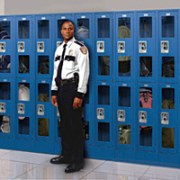 law enforcement lockers