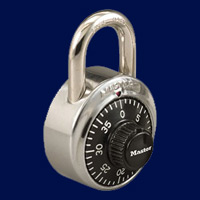 metal lockers with combination padlock