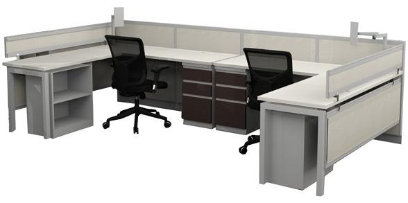 Steelcase Avenir Open Office Typical